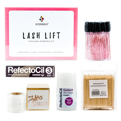 Lash lift and tint training kit