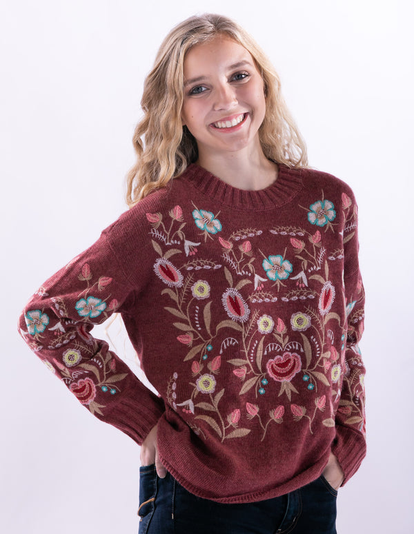 Weekend Sweater by Aratta
