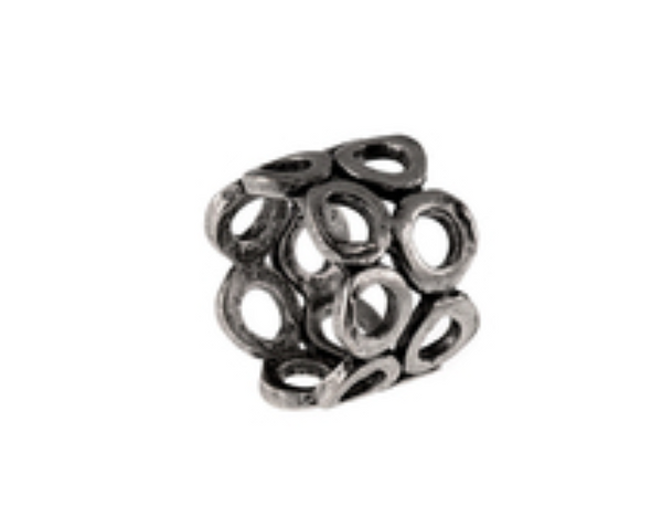 Double Layer Circle Ring by Avant Garde Paris - ShopMINQ