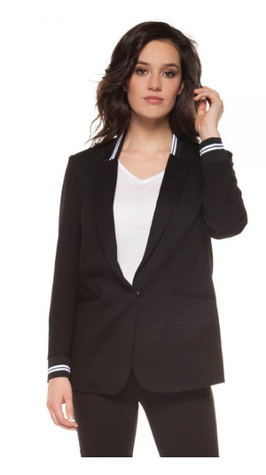 Sports Tape Blazer by Black Tape - ShopMINQ