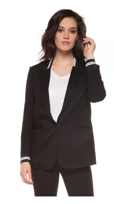 Sports Tape Blazer by Black Label - ShopMINQ