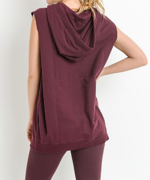 Hooded Muscle Top by MINQ - ShopMINQ