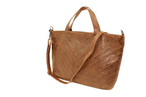 Morgan Hand Bag by Latico in Congac - ShopMINQ