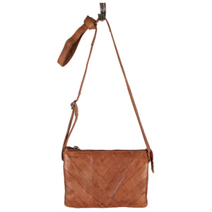 Sunny Leather bag by Latico in Cognac - ShopMINQ