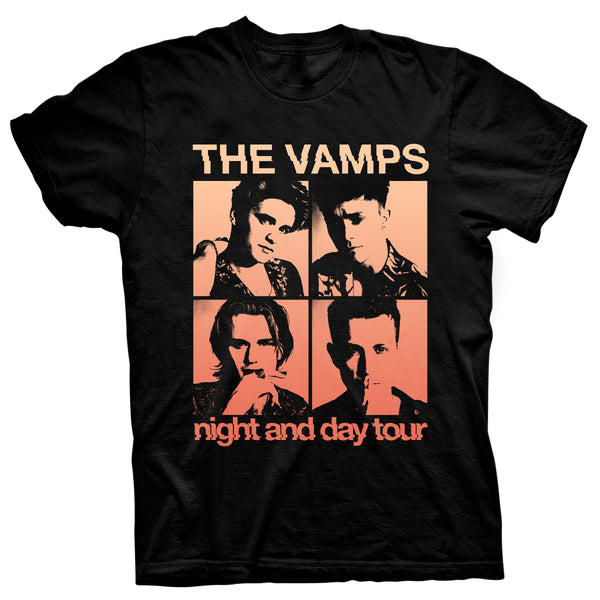 Night & Day Tour T-shirt - The Vamps AU