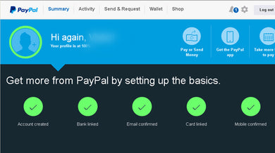 Verified STEALTH PAYPAL Account For Forging Peoples