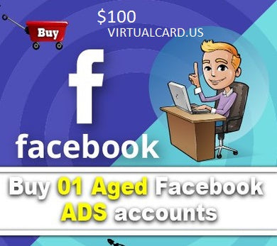 Buy Active Facebook ads accounts + Promotion Card
