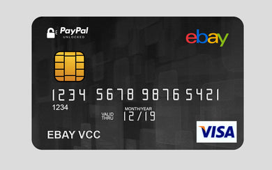Virtual Card For Verify eBay + PayPal Dous