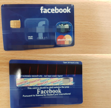 Facebook Ads Card - 50$ Balance