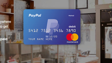 PayPal Prepaid Master Card With Online Access