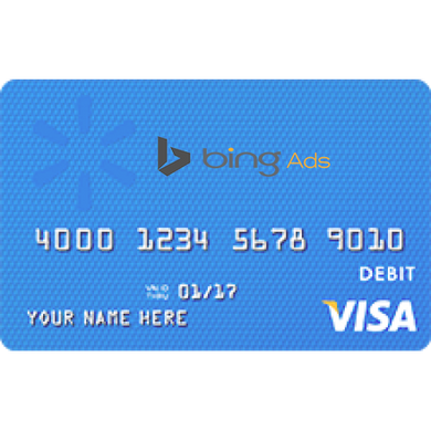 Bing Ads VCC (Virtual Credit Card) 25$ Loaded Blanace