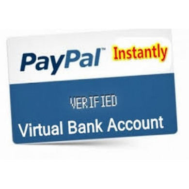 Virtual US bank Account For Paypal - PAYPAL VBA