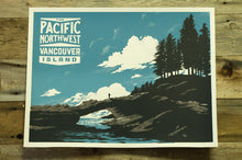 Load image into Gallery viewer, Pacific Northwest Vancouver Island Screenprint