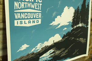 Pacific Northwest Vancouver Island Screenprint
