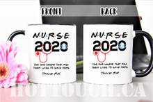 Load image into Gallery viewer, Nurse mug 2020,Friends TV show Nurse Mug,Funny Graduation Gift,New nurse mug,I'll be there for you,friend mug,Graduation nurse mug OC-NR-13