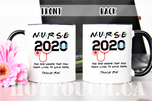 Nurse mug 2020,Friends TV show Nurse Mug,Funny Graduation Gift,New nurse mug,I'll be there for you,friend mug,Graduation nurse mug OC-NR-13