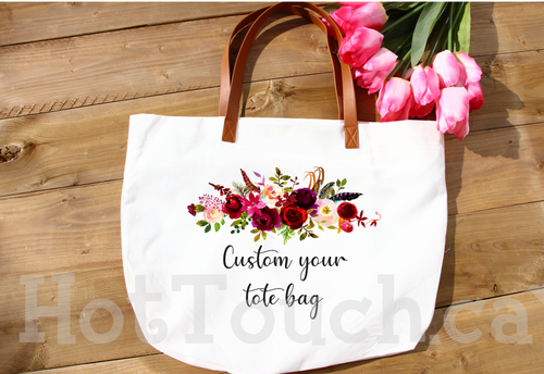 Custom your tote bag