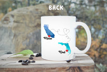 Load image into Gallery viewer, long distance mug for dad,Dad coffee mug,long distance,moving away from dad,long distance gift,US state Canada province mug,Dad gift LD-FD-1