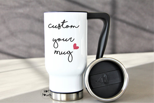 Custom coffee mug,Travel Coffee Mug,Coffee Mug,Travel Mug,Gift for her,Gift for him,Gift for coworker,tea mug,personalized gift,coffee lover