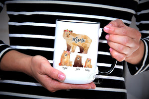Mama Bear Gift,Gift for Mom,Mama Bear,Mama Bear Mug,Gift for Mum,new mom mug,Mug for Wife,Gift for Wife,My favorite People call me FM-MO-018