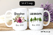 Load image into Gallery viewer, Grandparents Mugs,Pregnancy Reveal to Grandparents,Pregnancy Announcement Grandparents,New Grandparents,mugs,Future Grandparent FM-GG-001