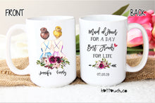 Load image into Gallery viewer, Maid of Honor gift,Maid of Honor proposal,Maid of Honor mug,bridal party,wedding mug,bridal gift,gift for her,Bestie mug,Best friend WD-BM-9