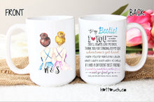 Load image into Gallery viewer, Bestie mug,Gift for Bestie,funny best friend mug,Coffee cup with lid,best friend gift,bff FR-BF-6
