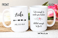 Load image into Gallery viewer, Speech Therapy Gifts,SLP Graduation,Slp student,Gifts for Speech Therapist,Slp gifts,speech language pathologist,Slp coffee mugs OC-SPL-03