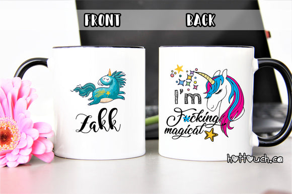 Unicorn Mug,Unicorn,Unicorn Gifts,Funny Unicorn mug,Funny Mugs,Funny Coffee Mug,Be a Unicorn Mug,Funny Gift for Her,Fuck Mug, Mugs AL-UC-002