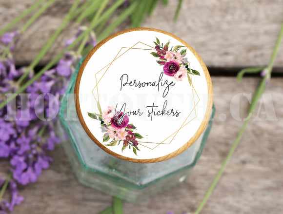 Custom Stickers,Custom labels,Wedding thank you stickers,Floral  stickers,calligraphy labels,personalized labels,your logo labels,stickers