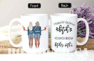 Best Friend Gift, Gift For Best Friend, Gift For Her, Personalized Gift, Best Friend, Gift For Sister, Best Friends Mug, Bestie mug FR-BF-6