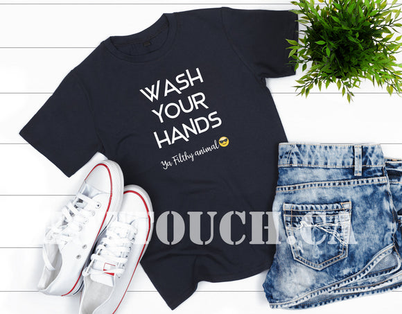 Wash your hands,virus saying,Wash your hands hoodie,social distance shirt,wash your hands tank,funny tshirt,funny pandemic tshirt FY-ME-7