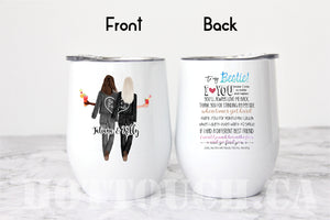 Best friend gift,Bestie gift,Bff swell bottle,Soul sisters gift,Personalized BFF gift FR-BF-6