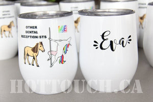 Wine tumbler, Custom wine tumbler, Wine cup, Gift for wine lovers, Personalized your wine tumblers