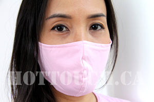 Fabric Face Mask, Handmade Fitted Mask Style, quick production time and ships from Alberta Canada