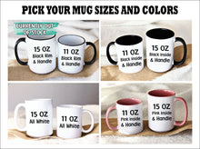 Load image into Gallery viewer, Father's Day mug,Worlds Best Dad mug,cute kid faces,Father's Day gifts from kids,Dad coffee mug,This Dad belongs to,Kids names mug FM-DA-12