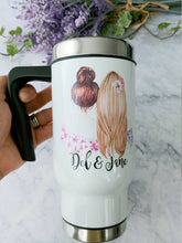 Load image into Gallery viewer, Funny Bff mug,Bestie travel mug,Gift idea for Bestie,Best Friend gift,Soul sister,friend forever,best friend mug,bff coffee mug,mugs FR-BF-6