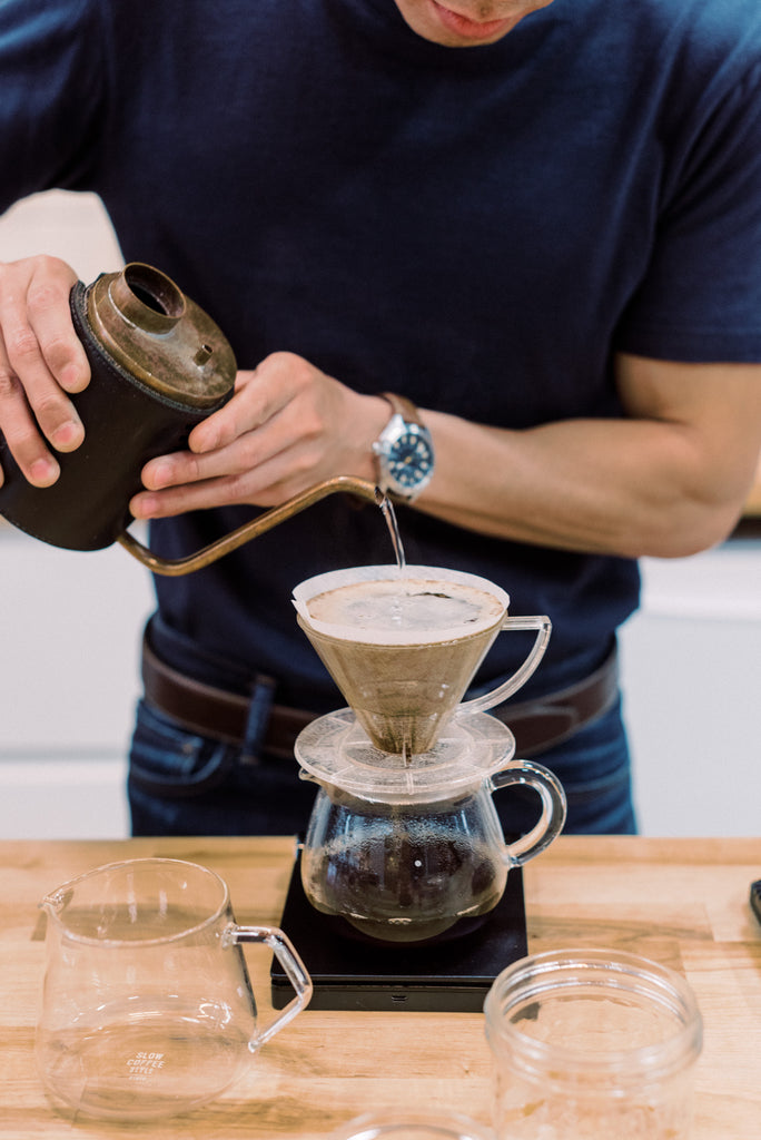 How to Make: A Pour Over Coffee