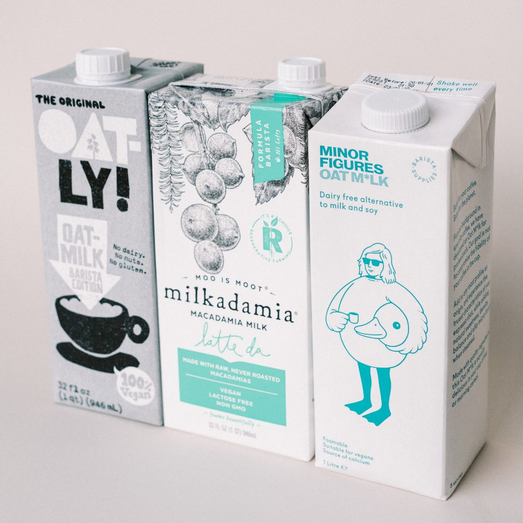 Alternative M*lk - Oat, Almond, Soy, Macadamia - In-store Pick up or Delivery Only