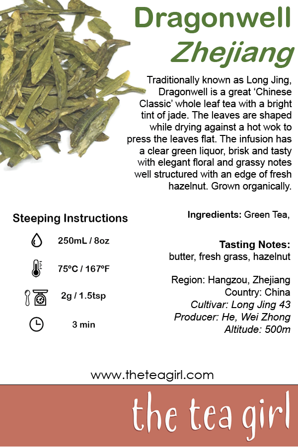 The Tea Girl - Dragonwell Zhejiang