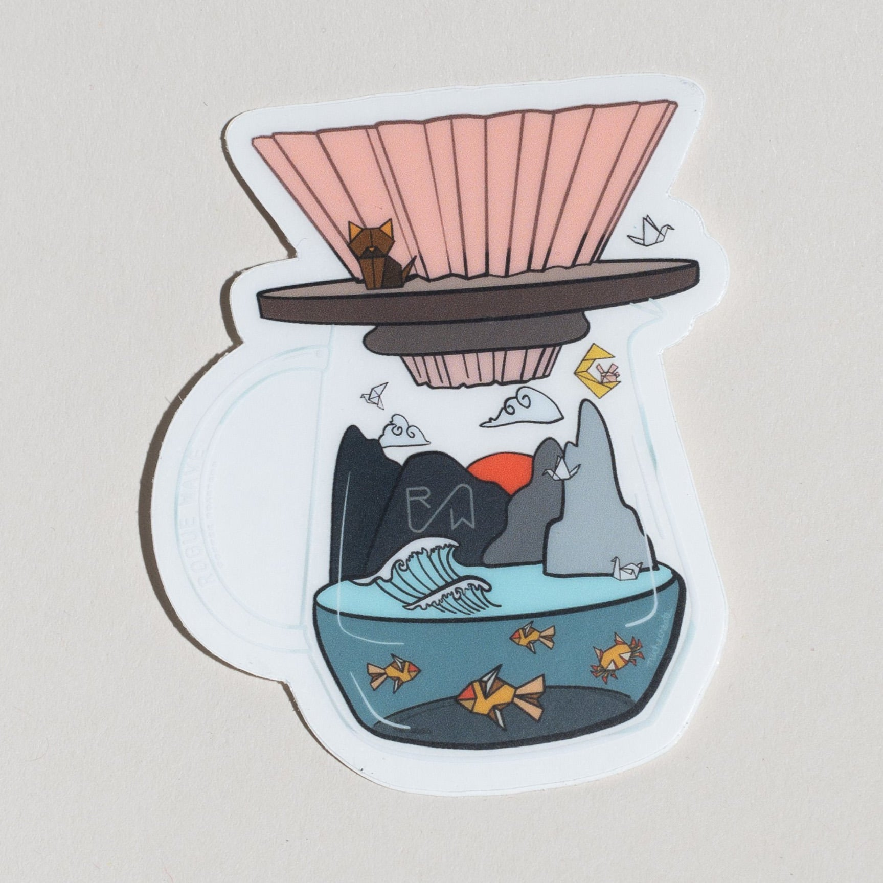 Niche Create - Pour Over Stickers