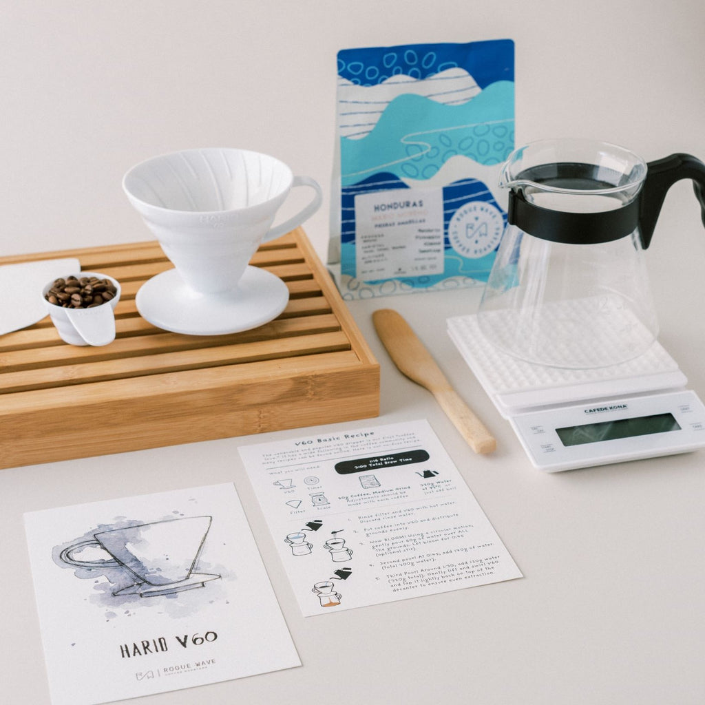 Hario V60 Recipe Card