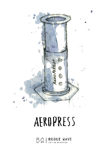 Aeropress Recipe Card