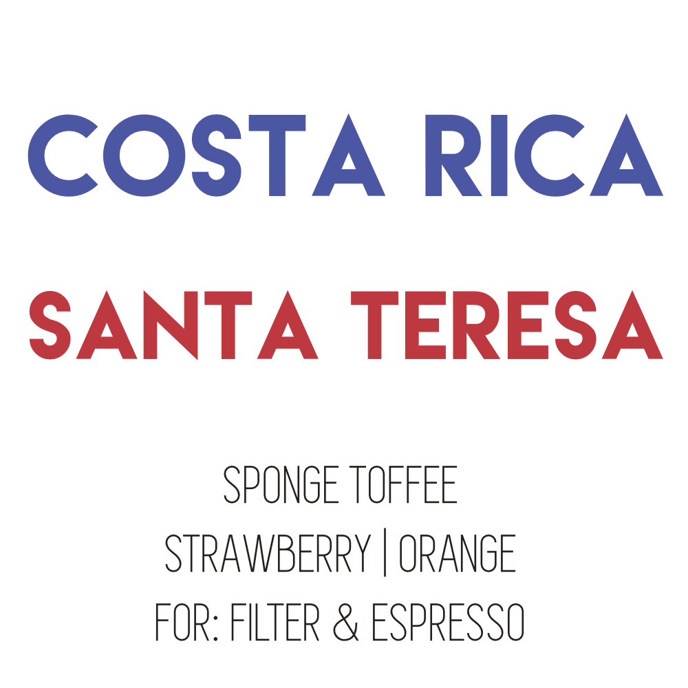 Costa Rica Santa Teresa - Red Catuai - Yellow Honey - 340G