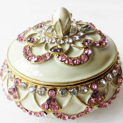 "Ring Holder - RING HOLDER ""Gold"" & Light Rose, Ring Holder - Jamagrasha Custom Item"