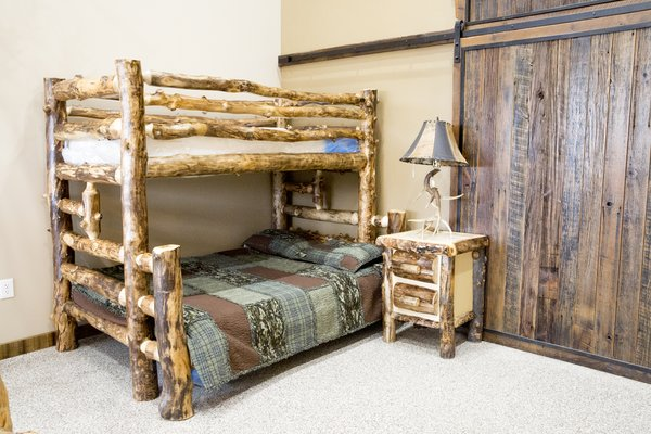 Rustic Furniture - Timber Creek Bunk Bed - Timber Creek Rustic Furniture