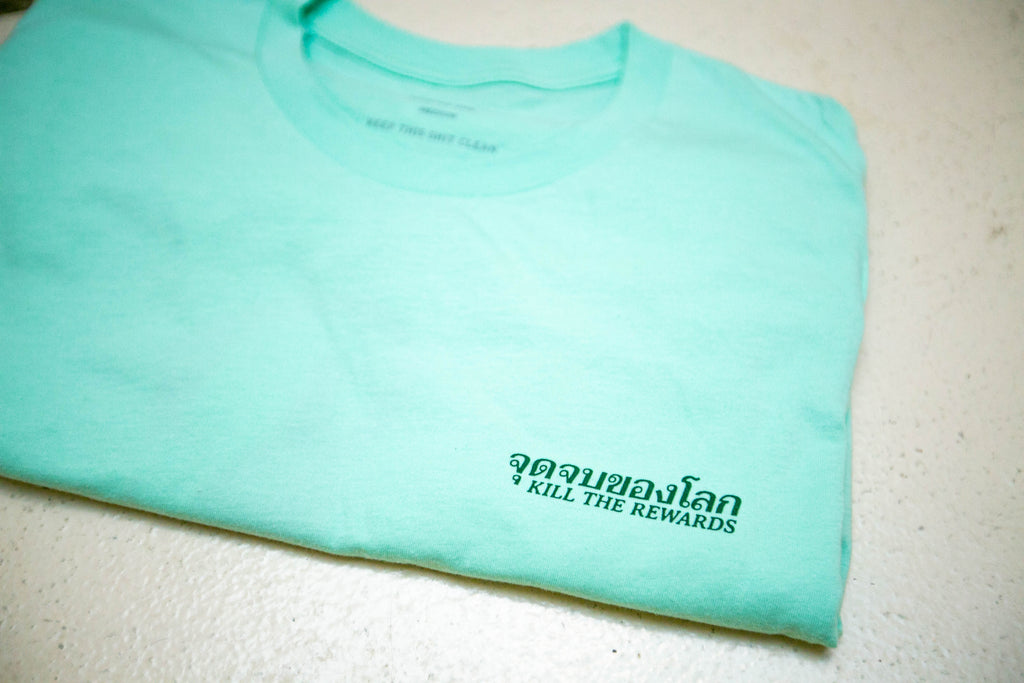 Spirits Tee | MINT GREEN