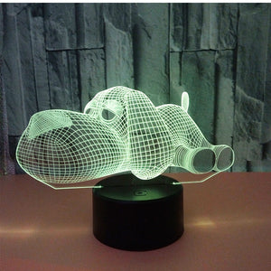 3D LED Dog Lamp