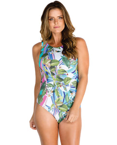One-Piece Back Open Swimsuit