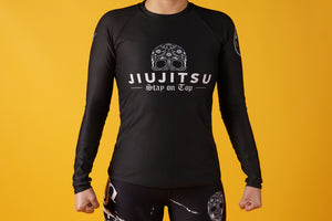 Women BJJ Rash Guard | BJJ Sugar Skull